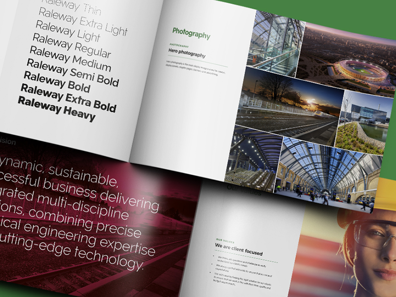 TSP Projects brochure pages