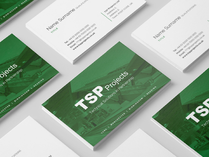 TSP Projects brochure front page